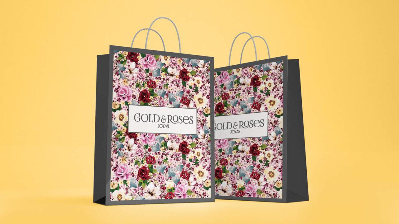 Zona kamaleon - Gold&roses Bolsas