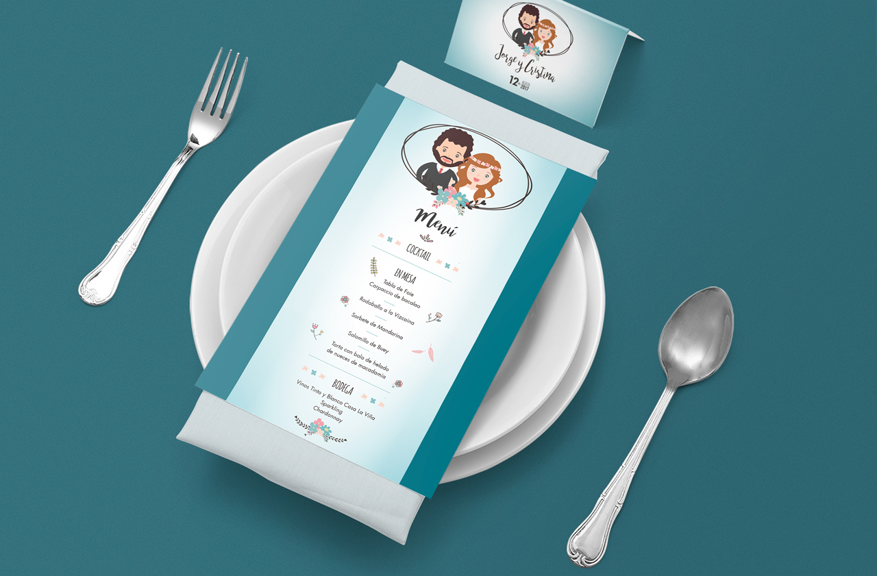Zona kamaleon - Enlace Jorge y Cristina menu