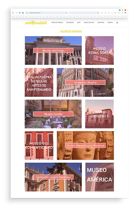 Zona kamaleon - Arte Y Madrid diseño web