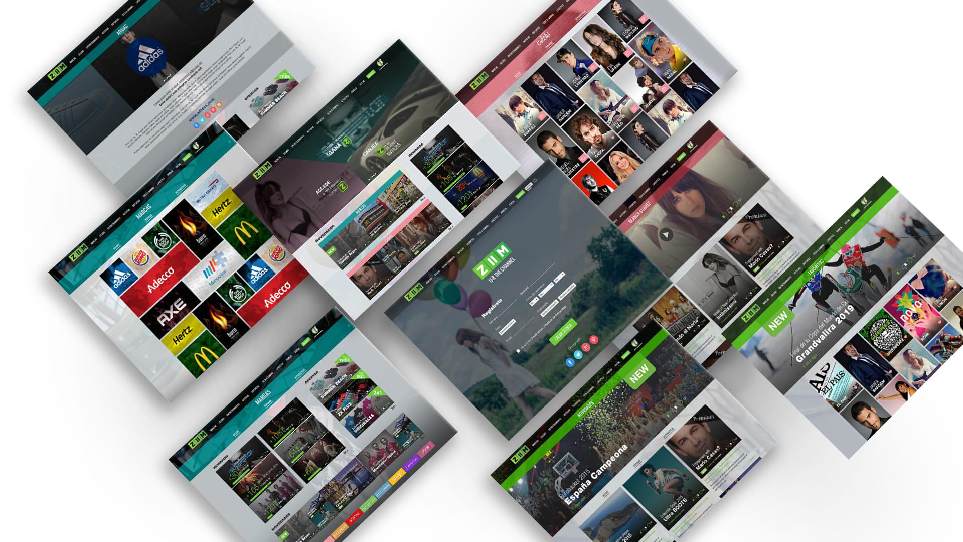 Zona kamaleon - ZIIM diseño web