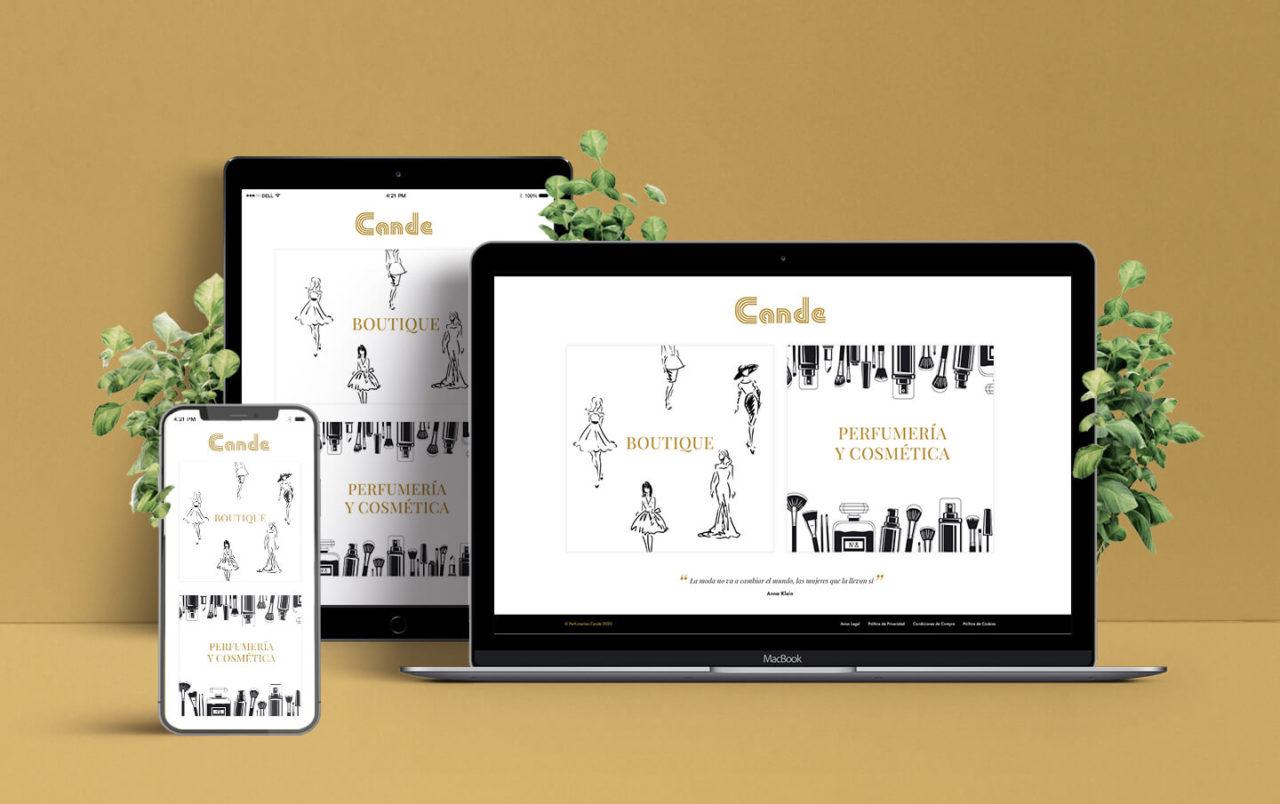 Zona kamaleon - Diseño Web Responsive Cande