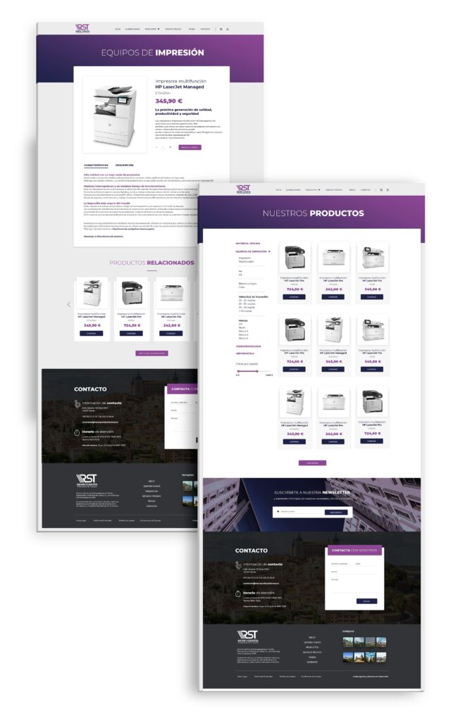 Reprografia y Sistemas de Toledo - E-commerce